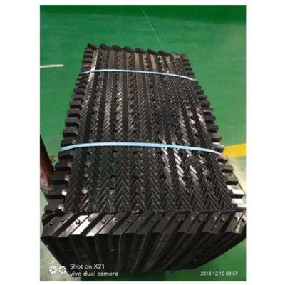 PVC菱电冷却塔淋水片 高质量菱电恒流填料 代收水功能填料 品牌华庆