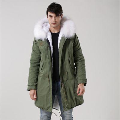 男士尼克外套秋冬季新款欧2018保暖派克服大码中长款外套厂家直销