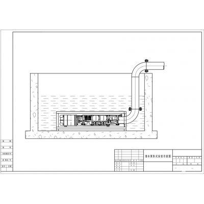 供应云南QJW卧式安装潜水泵_320方大流量高扬程卧式潜水泵