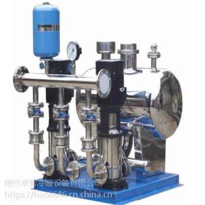 卓智厂家批发全自动无负压变频供水设备二次加压变频给水设备