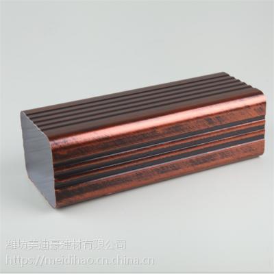 天沟厚度 屋檐排水槽尺寸 焊接方形雨水管 美迪豪支持来图定制