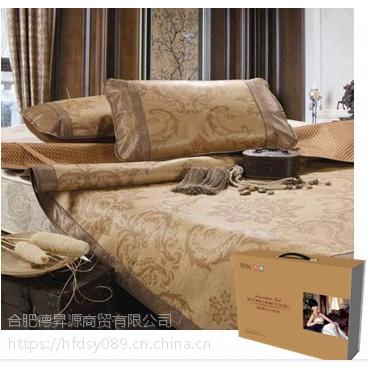 品牌床上四件套批发 安徽合肥博洋四件套定制-纯色丝绵