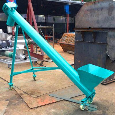 重庆 耐高温螺旋管上料机 不锈钢螺旋输送机厂家