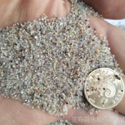 河北圆粒砂生产厂家,永顺10-20 20-40目圆粒砂