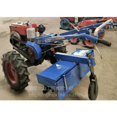 柴油旋耕犁地机 水田果园 12马力手扶拖拉机开沟机