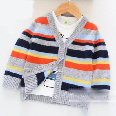 2018秋冬新款韩版儿童纯棉针织衫时尚开衫中小童3~8岁毛衣外套童装特价批发