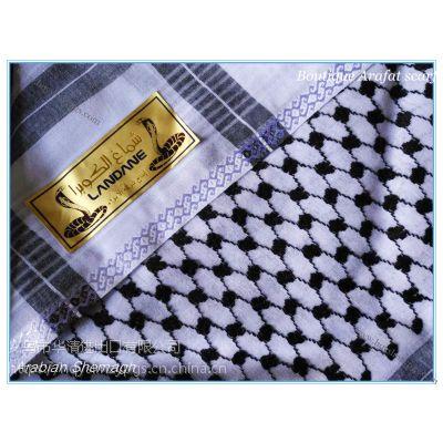 礼盒精装阿拉法特提花头巾 Boutique Arafat Shemagh