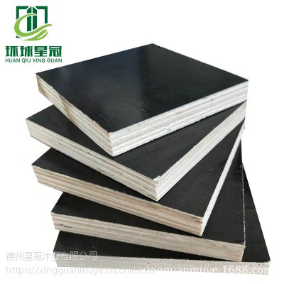 厂家直供建筑木胶板易脱膜防水山东星冠板材