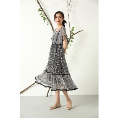 深圳大牌 黛玫恩真丝 真丝系列 品牌女装折扣批发 连衣裙 多种款式