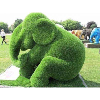 雕塑厂批发仿真绿雕小件 纯手工打造创意仿真绿雕景观小品 造型独特有创意