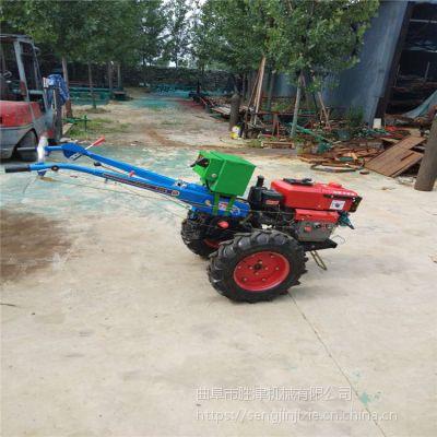 手扶旋耕机低油耗 大马力手扶拖拉机 多功能小型耕地机