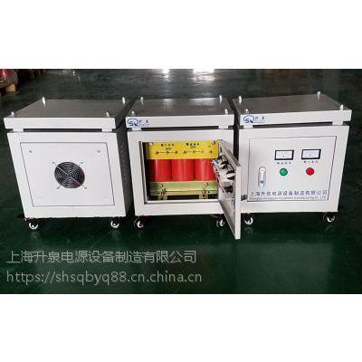 上海升泉供应三相干式隔离变压器380/220200进口机床三相伺服变压器