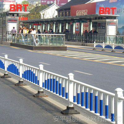 河北厂家供应 pvc市政护栏网 人行道路隔离栏