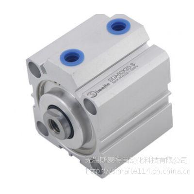 山东薄型气缸 螺纹连接强度好 气缸生产厂家