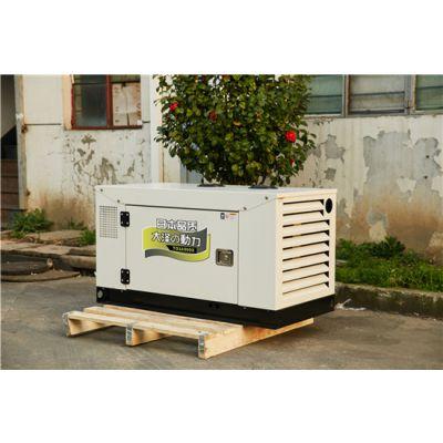 双缸水冷10kw静音柴油发电机组