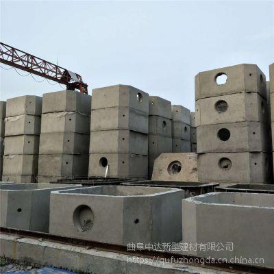 厂家低价供应优质水泥化粪池 钢筋混凝土预制整体化粪池