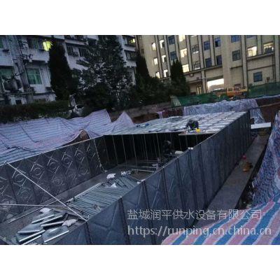 消防地埋箱泵一体化水箱泵站