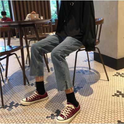 越南去哪找便宜牛仔裤批发赶集拍卖会批发韩版牛仔裤低价格批发