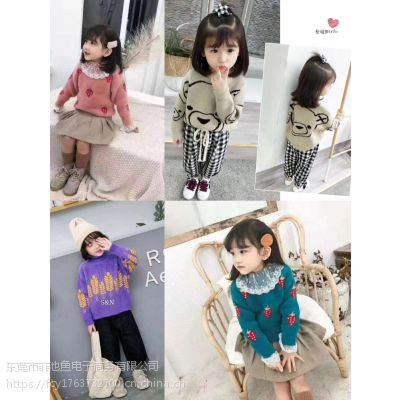 广州的韩版童装批发市场在哪里2019春季新款韩版中小童童装批发网货到付款潮童服装批发