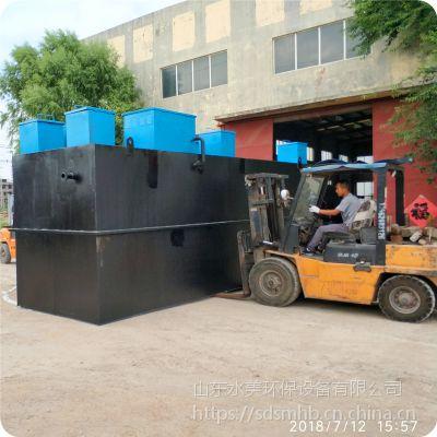 新疆库尔勒 一体化生活污水处理设备