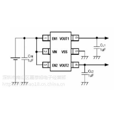 供应嘉泰姆驱动ICCXLD6490高精度低功耗高电压CMOS和激光微调技术制造的正电压稳压器