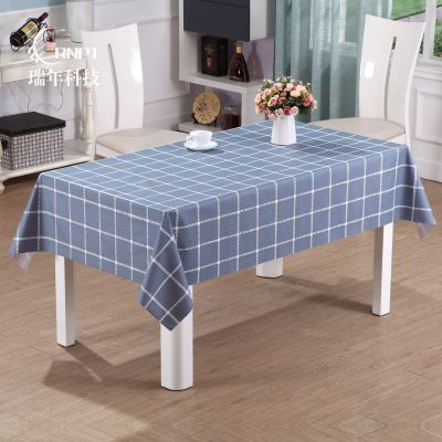 RNPT瑞年 厂家直销 防水防油防烫pvc桌布长方形塑料台布茶几布