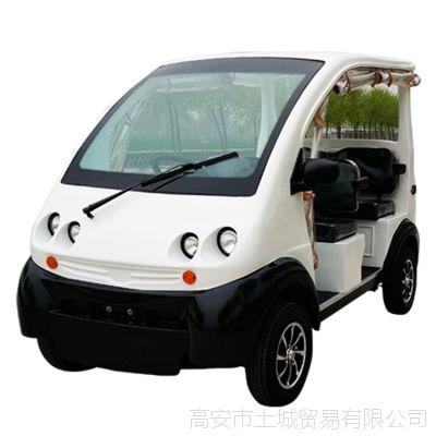 江西城奥电瓶车成人四轮电动车场地观光车电动巡逻车新款二排6座