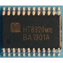 HT8320无感双电荷自适应升压、D/AB类2*4.5W音频功放IC