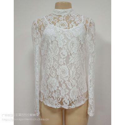 女式蕾丝T恤 SM005