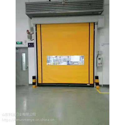 生产PVC遥控 电动 洁净门工业快速门