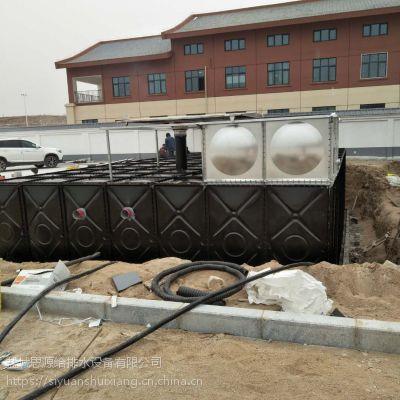 河北唐山抗浮式地埋装配式BDF消防稳压供水设备