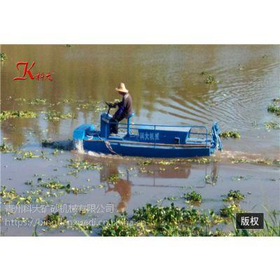 广东小型水草打捞船 垃圾清理运输机械