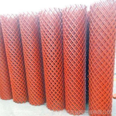 批发定做小孔眼施工防护网菱形金属网金属拉伸网金属板网