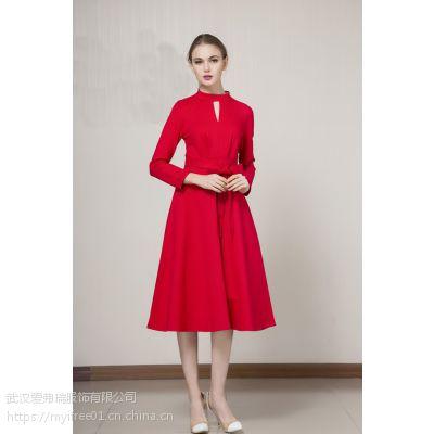 女装品牌折扣加盟玛丝菲尔19春夏新款连衣裙上衣