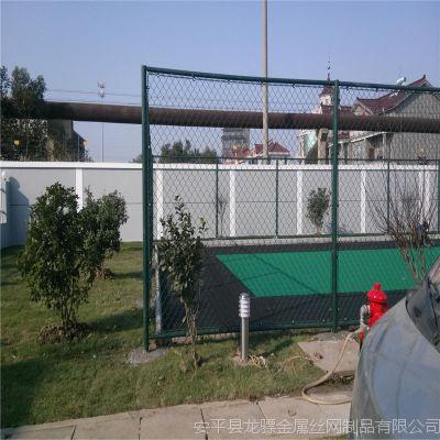 球场围栏高度 球场护栏网图片 体育馆室内围网铺设