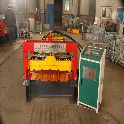 泊头地鑫压瓦机厂热销新型快速压瓦机 双排链传动单板机
