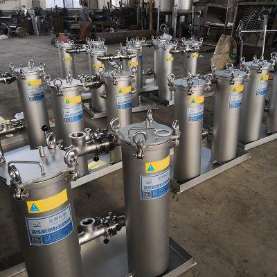 供应不锈钢可切换并联袋式过滤器