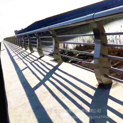 专业生产 不锈钢桥梁栏杆 河道 桥梁不锈钢护栏立柱 精品抛光