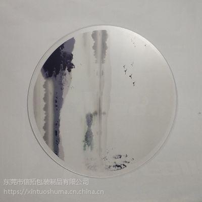 PP料桌面摆件水转印加工成品 塑料制品水贴纸喷油加工工厂
