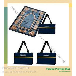 穆斯林3D印刷便携式祷垫毯 Muslim praying mat
