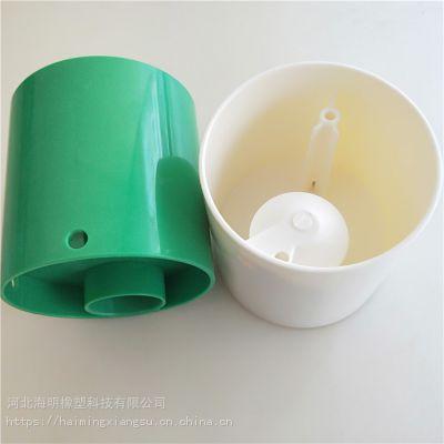 加工防水塑料外壳 ABS绿色塑料壳体 仪器仪表配附件塑料外盒定制