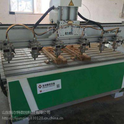 KET-1828一拖六木工雕刻机 山东科尔特雕刻机厂家 潍坊开料机