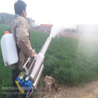 远程高喷脉冲弥雾机 打药效果好的烟雾机 农民都能用的起的弥雾机