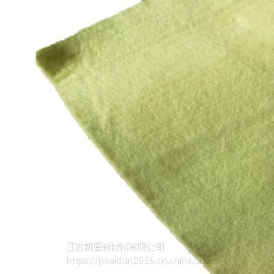 对位芳纶无纺布 黄色毛毡布 阻燃隔热 欢迎咨询可定制