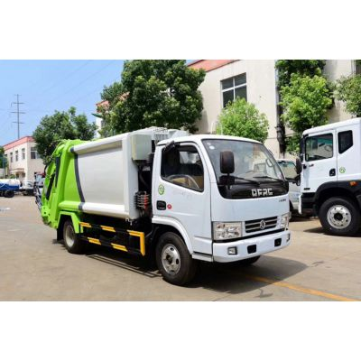 东风D9(10方)压缩式垃圾车厂家价格,公路垃圾处理好帮手