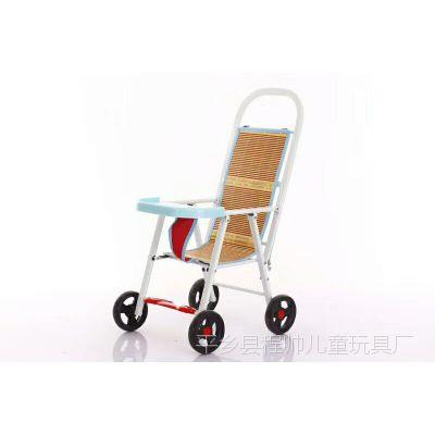 儿童手推车婴儿推车 四轮简便儿童推车 轻便可折叠推车