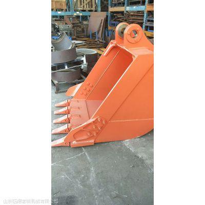 山西地区 日立250挖斗 装载机铲斗 Q345及高强锰钢钢板定制