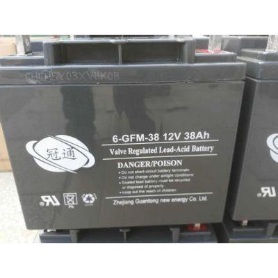 冠通铅酸蓄电池6-GFM-100储能蓄电池12V24AH冠通厂家