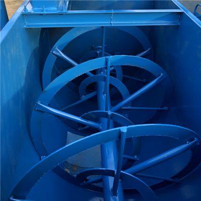 加工玉米粉碎搅拌机 电动卧式拌料机 耐腐蚀搅拌机厂家