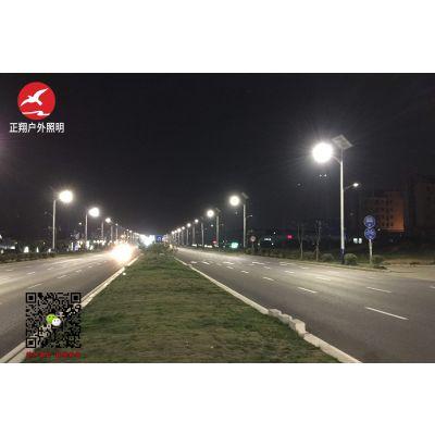 正翔照明LED太阳能路灯技术日趋完善